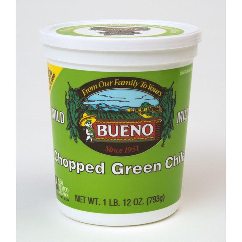 Bueno Chopped Green Mild Chile