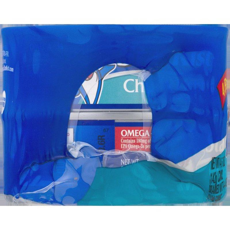 StarKist® Chunk Light Tuna in Water - 5 oz Can (4-Pack)