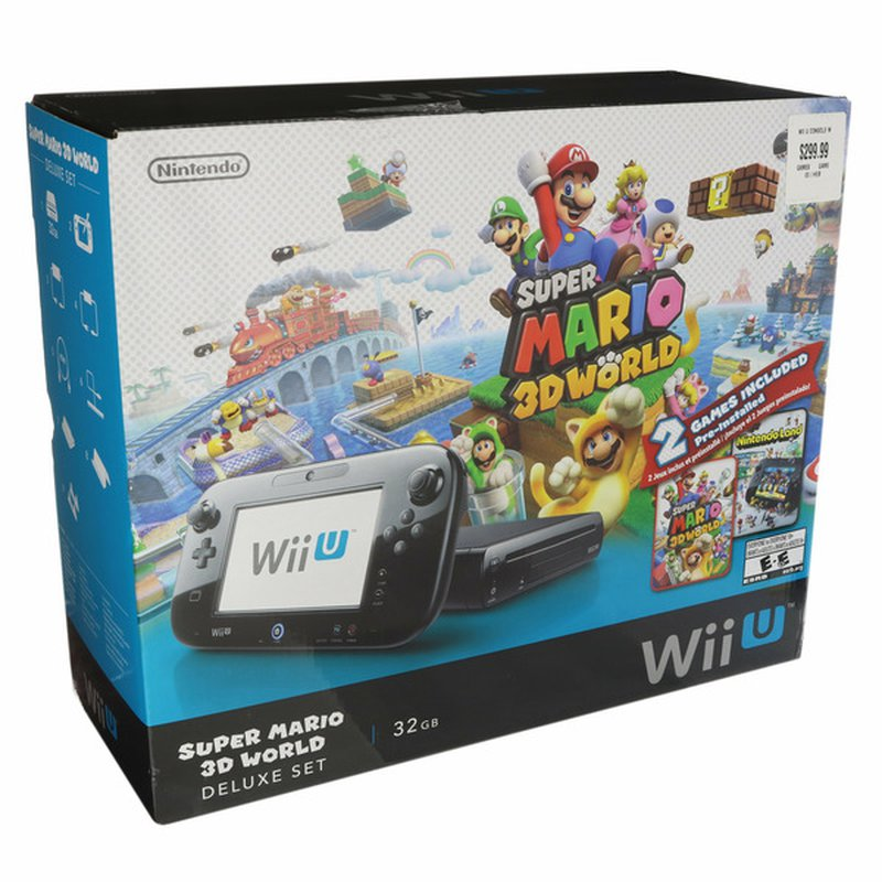 Nintendo Super Mario World 3D Deluxe Game for Wii U