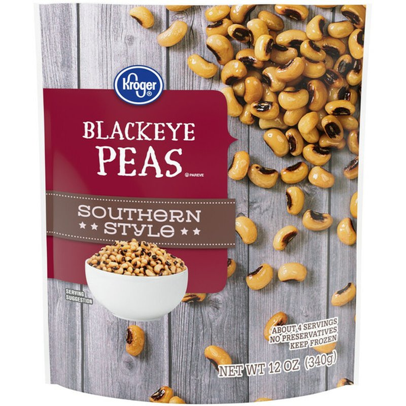 Kroger Blackeye Peas, Southern Style
