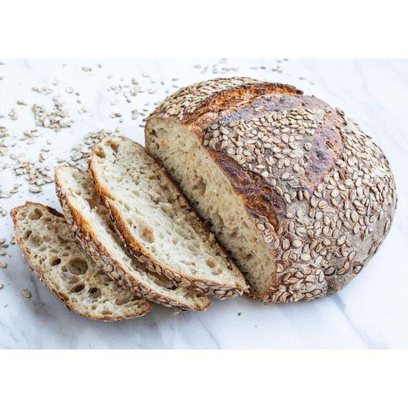 As Kneaded Bakery Honey Rye Porridge Bread