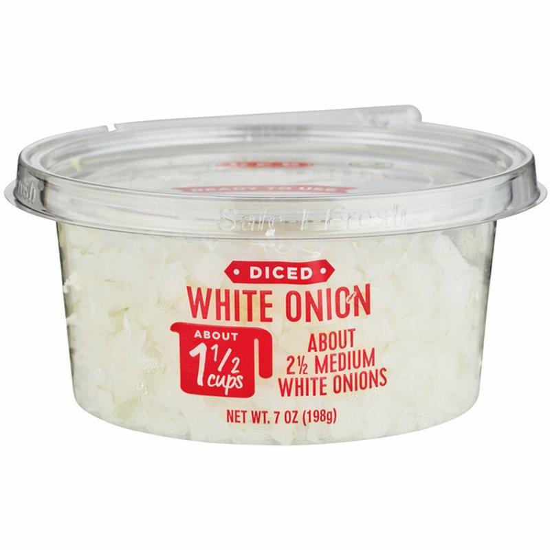 H-E-B Diced White Onion