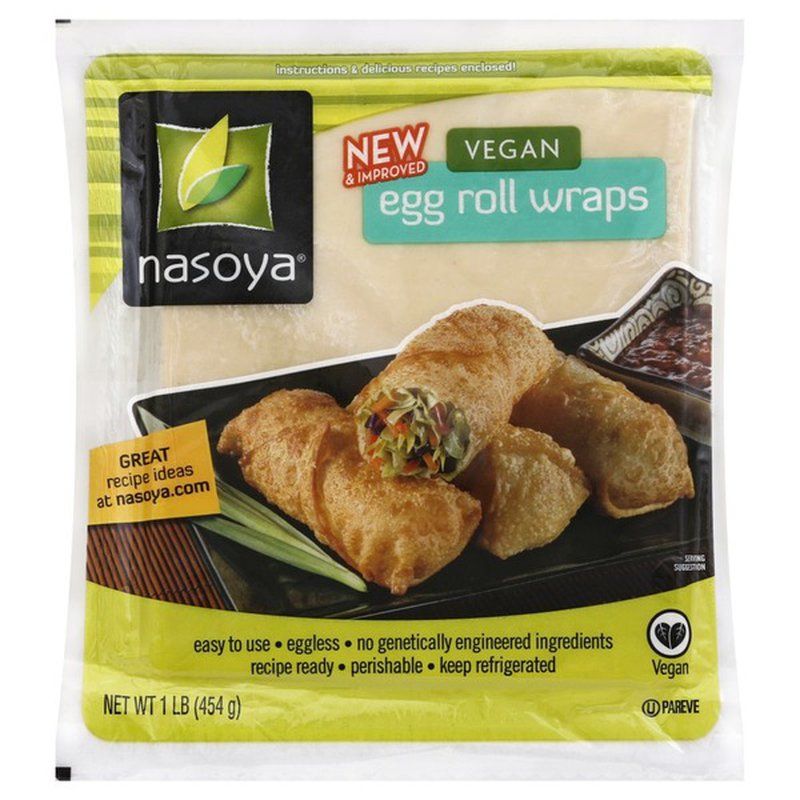 Nasoya Egg Roll Wraps, Vegan