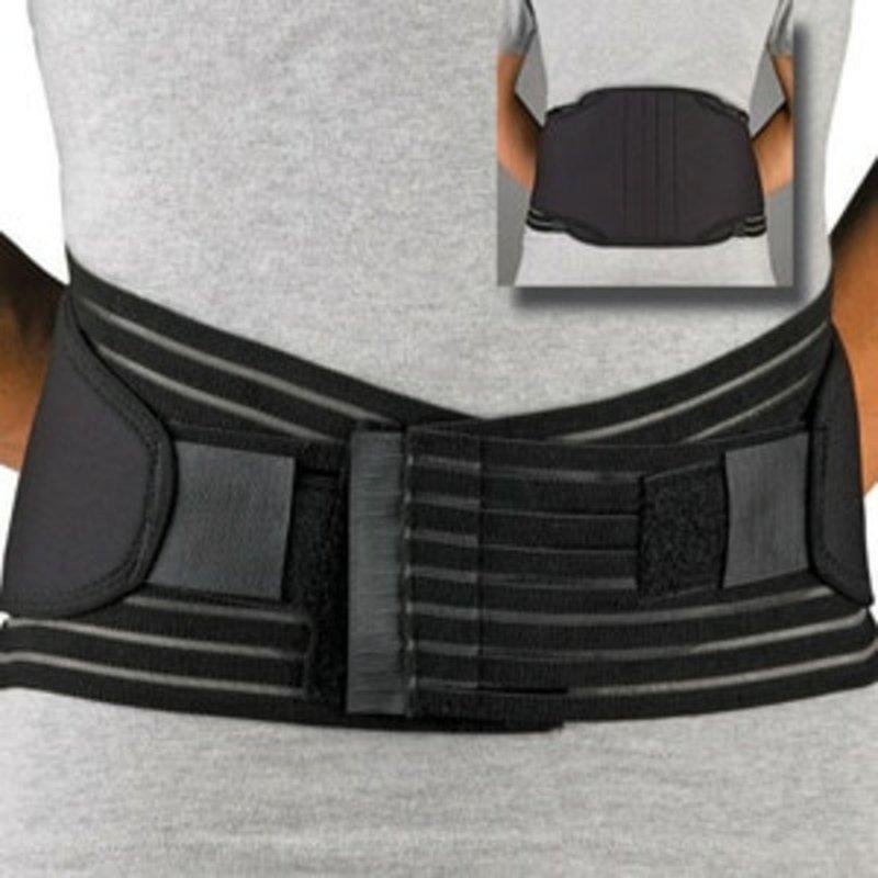 ProLite Large Black Neoprene Lumbar Sacral Support