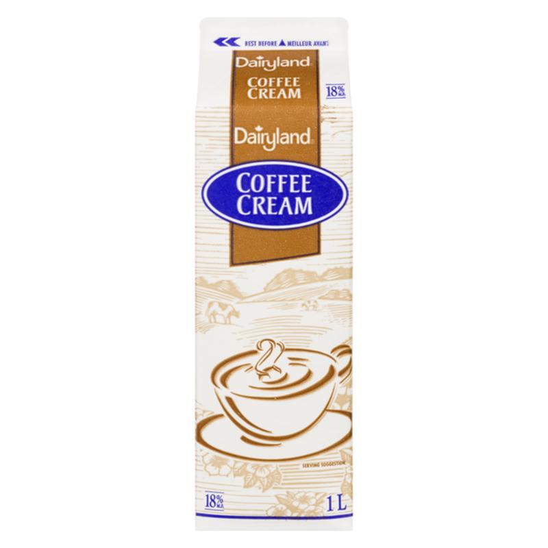 Dairyland 18% Coffee Cream