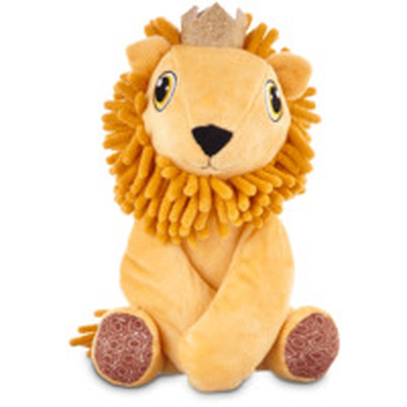 Leaps & Bounds Medium Pets on Safari Lion Plush Dog Toy
