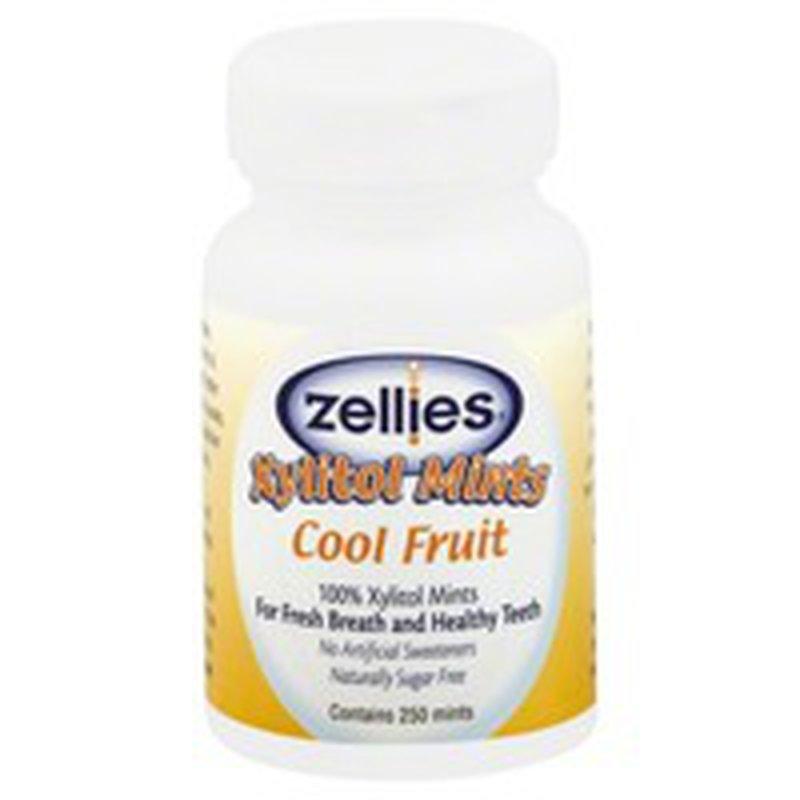 Zellie's Xylitol Mints, Cool Fruit