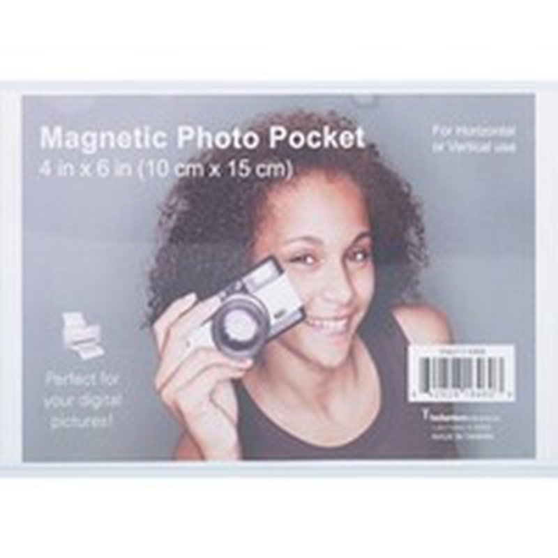 Magtech Magnetic Photo Pocket, 4 x 6 Inch