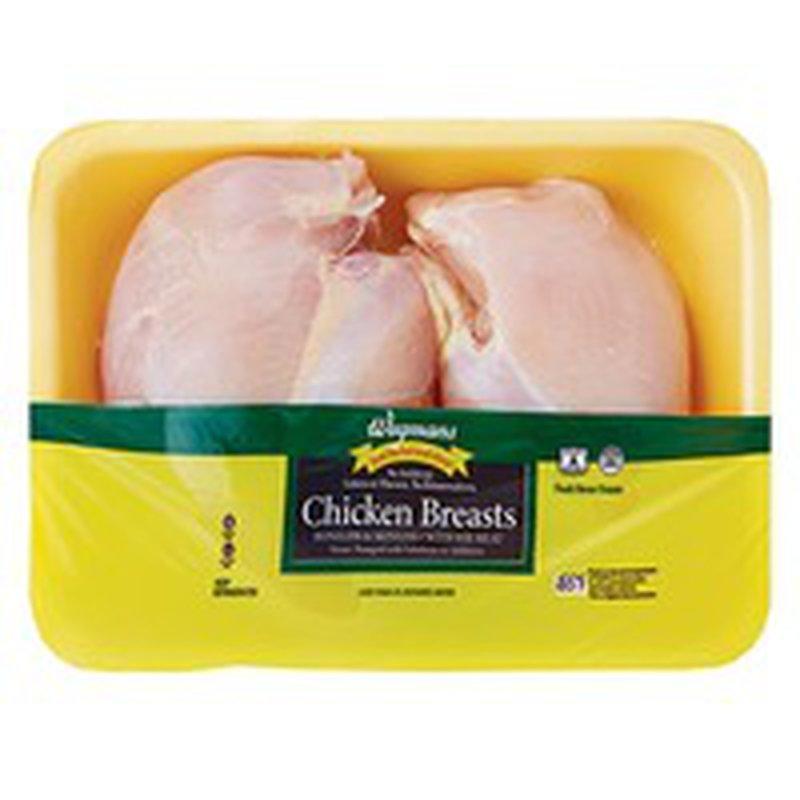 Wegmans Boneless/Skinless Chicken Breasts with Rib Meat