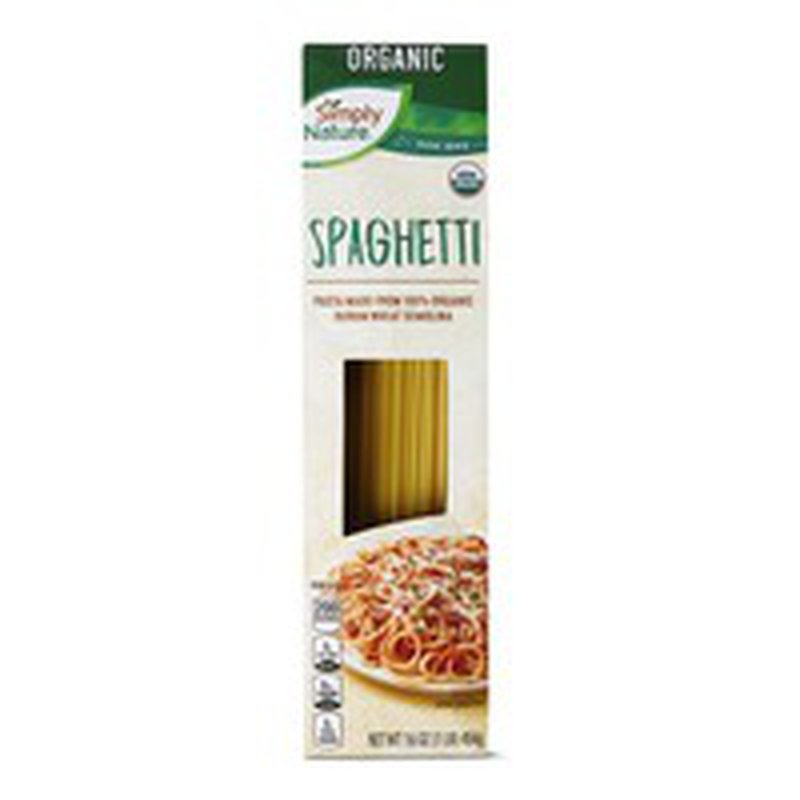 Simply Nature Organic Pasta Spaghetti