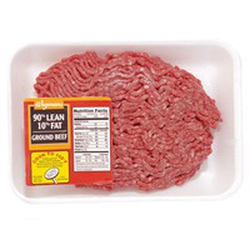 Wegmans 90% Lean Ground Beef