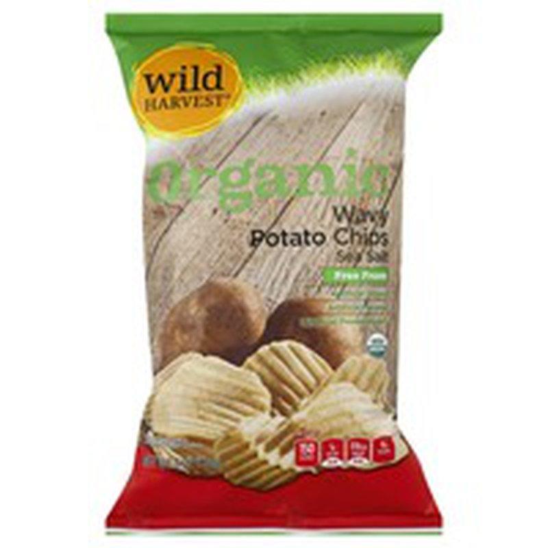 Wild Harvest Organic Wavy Potato Chips