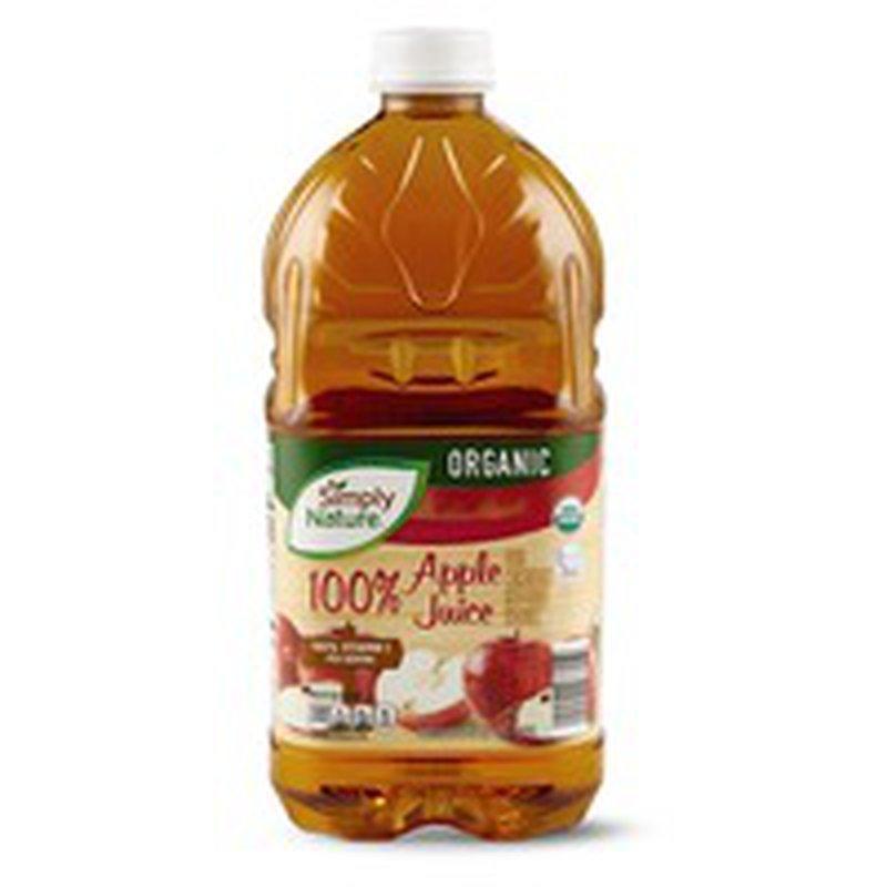 Simply Nature 100% Organic Apple Juice