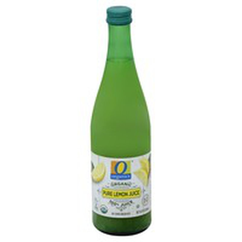O Organics 100% Pure Lemon Juice