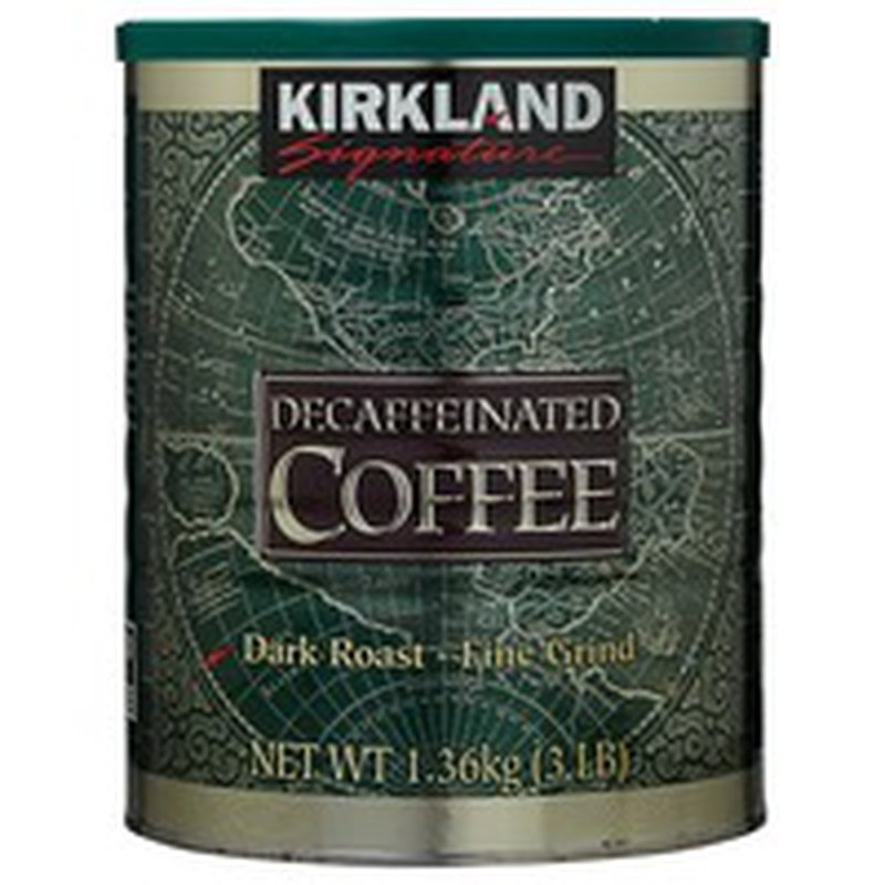 Kirkland Signature Decaf Arabica Coffee, 48 oz