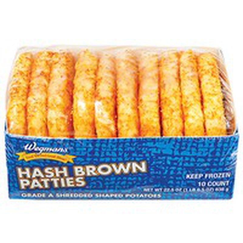 Wegmans Potatoes Hash Brown Patties