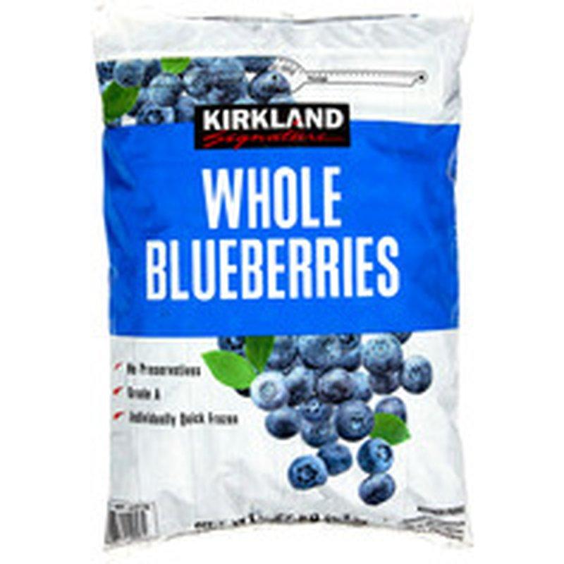 Kirkland Signature Blueberries, 5 lb