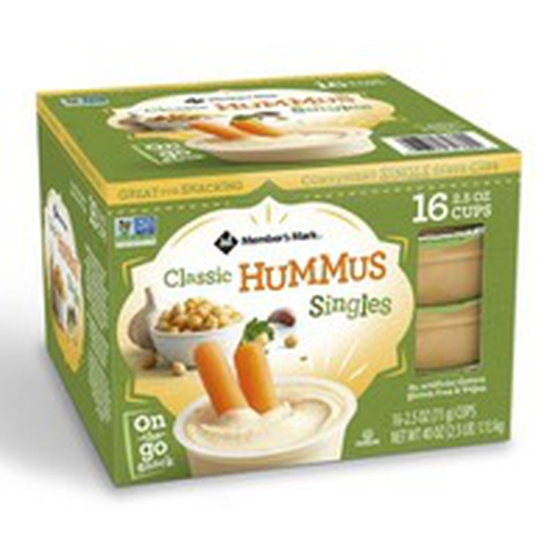 Member's Mark Classic Hummus Singles