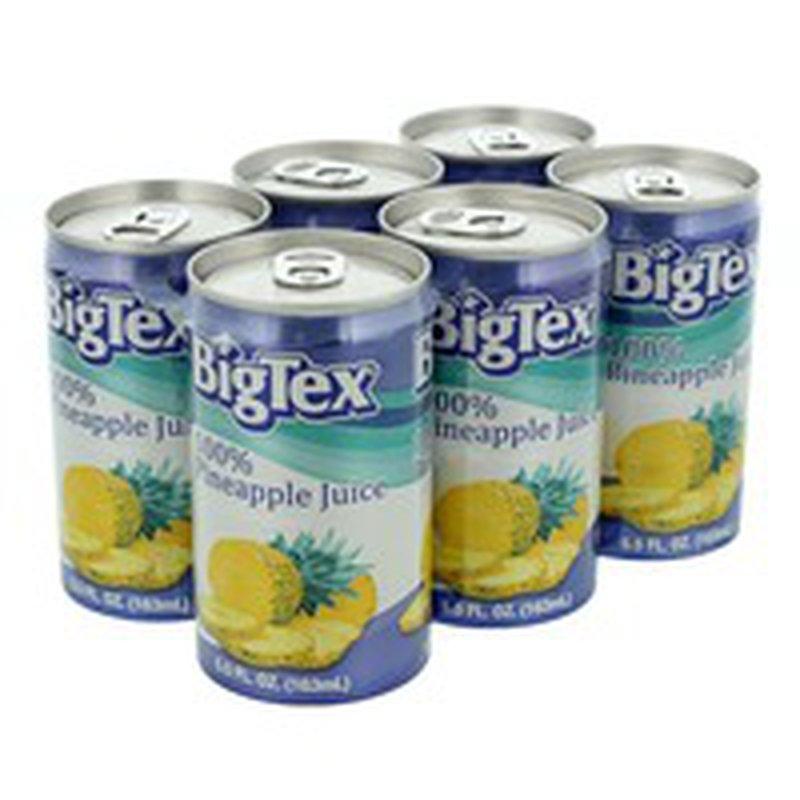 Bigtex 100% Juice, Pineapple