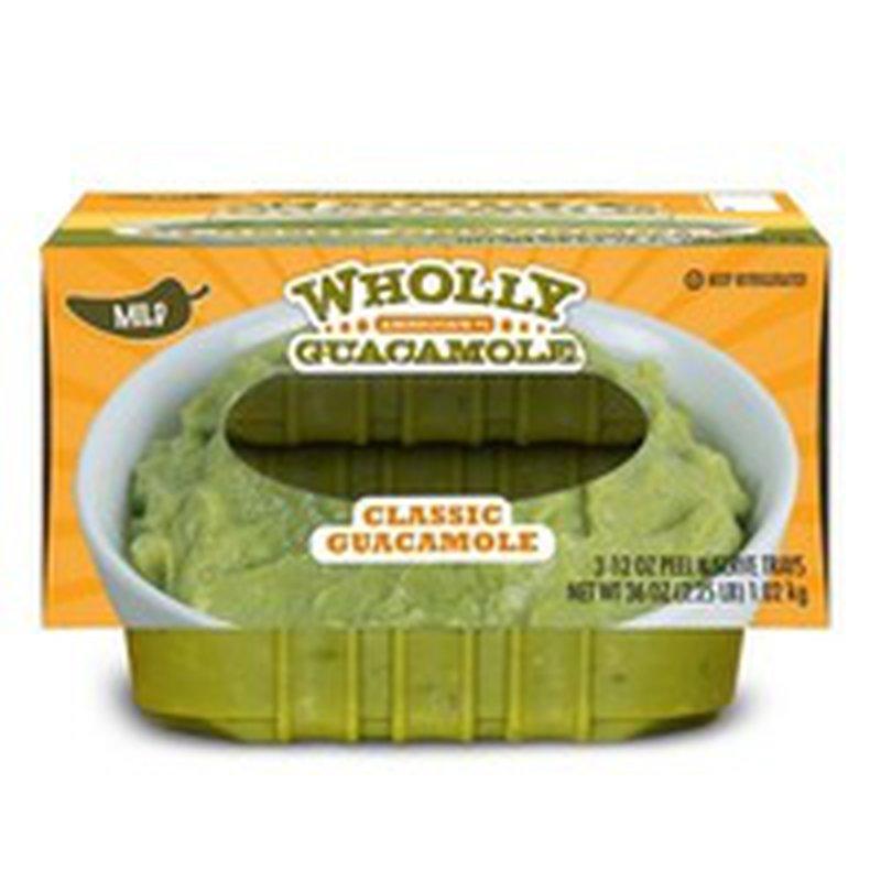 Wholly Guacamole Classic Guacamole Mild (12 oz. trays 3 pk.)