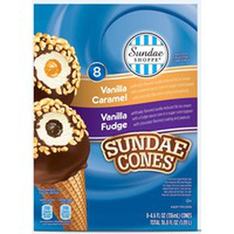 Sundae Shoppe Mixed Sundae Nut Cones