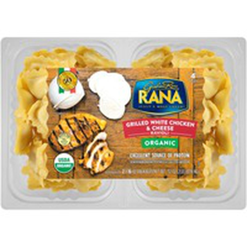Giovanni Rana Organic Grilled White Chicken & Cheese Ravioli