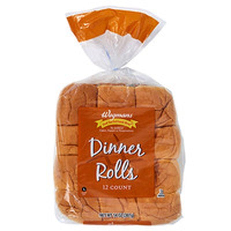 Wegmans Dinner Rolls, 12 Pack
