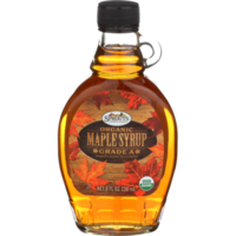 Sprouts Organic Grade A Amber Maple Syrup