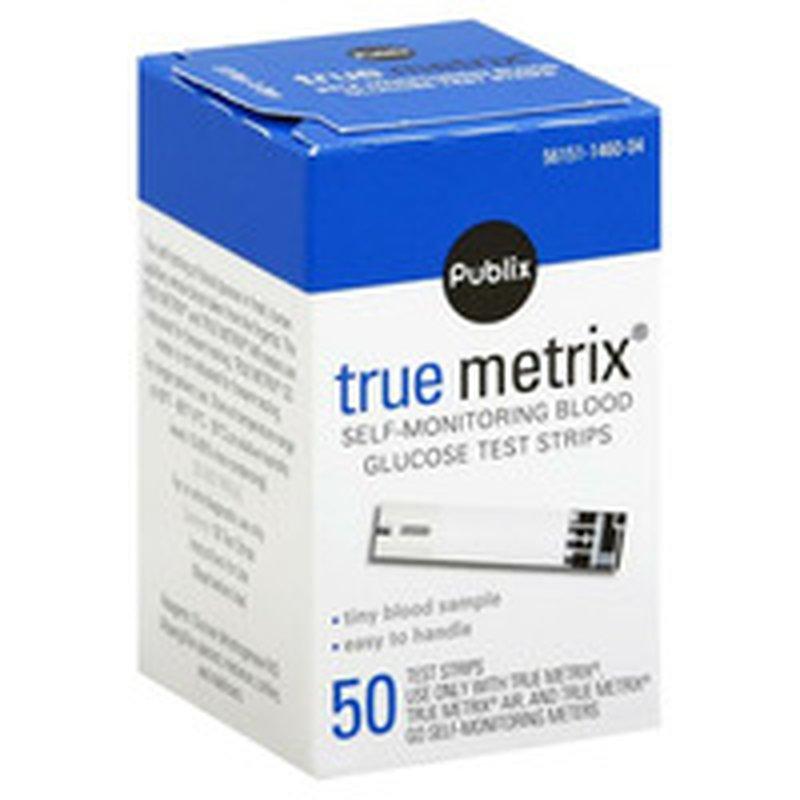 Publix True Metrix Diabetic Test Strips