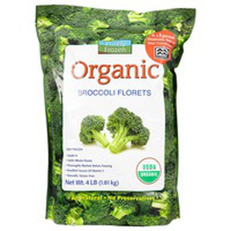 Purely Frozen Organic Broccoli Florets