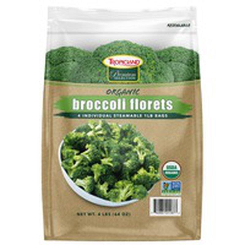 Tropicland Organic Broccoli Florets