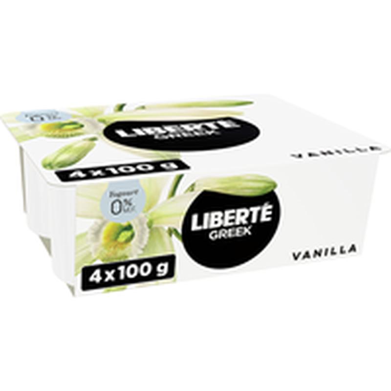 0% Fat Vanilla Greek Yogurt