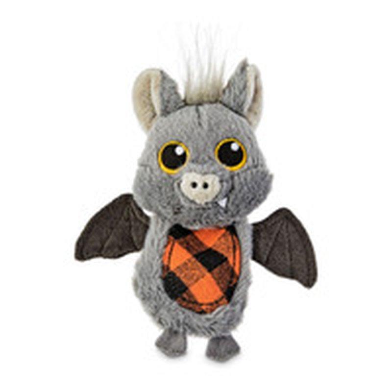 """6"""" Halloween Bat Flattie Dog Toy"""