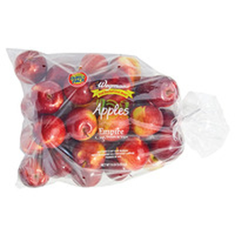 Wegmans Food You Feel Good About Apples, Empire, Family Pack