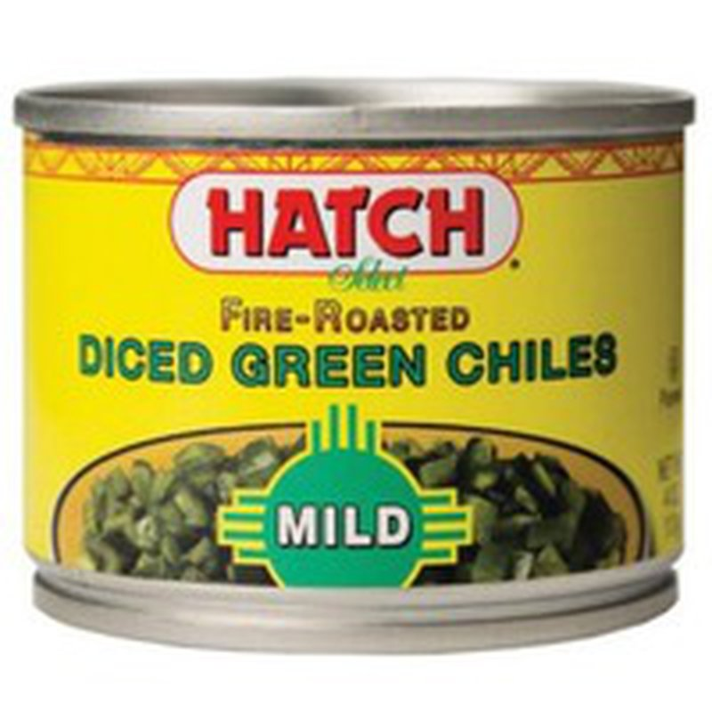Hatch Fire-roasted Diced Green Chiles