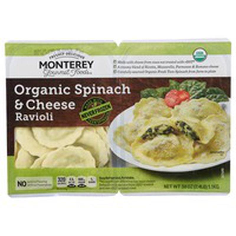 Organic Spinach & Cheese Ravioli