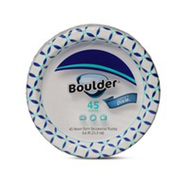 """Boulder 8.5 """" Decorated Paper Plate"""