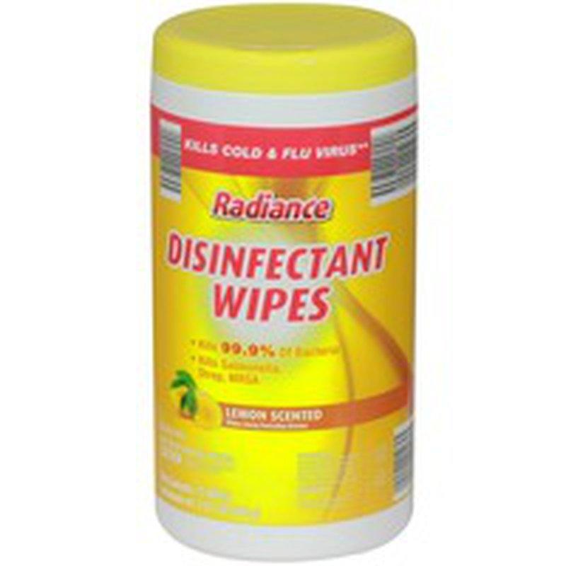 Freshine Lemon Disinfectant Wipes