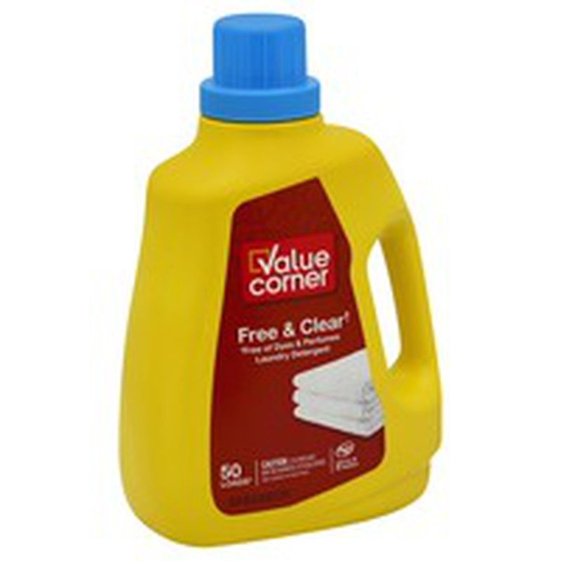Value Corner Laundry Detergent, Free & Clear