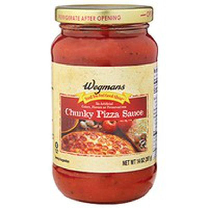 Wegmans Food You Feel Good About Chunky Pizza Sauce