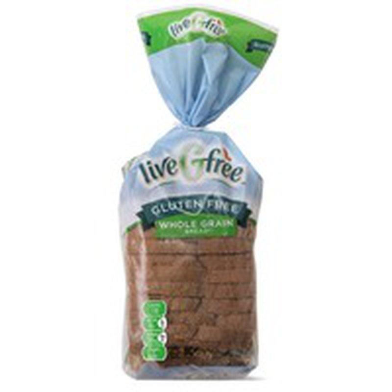 liveGfree Gluten Free Whole Grain Bread