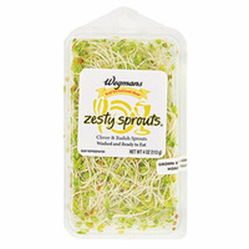Food You Feel Good About Pre-Washed Fresh Zesty Sprouts
