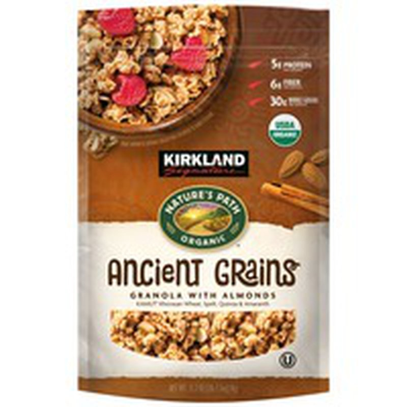 Kirkland Signature Nature's Path Organic Natures Path with Almonds