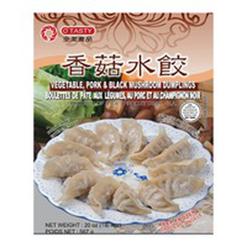 O'Tasty Dumplings Pork & Mushroom