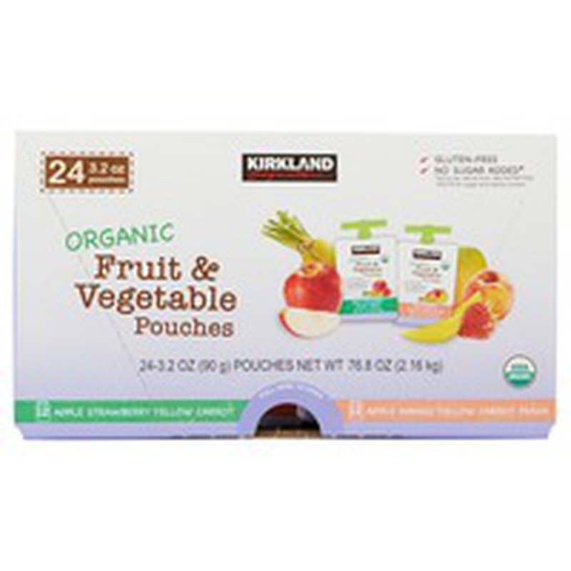 Kirkland Signature Organic Fruit & Vegetable