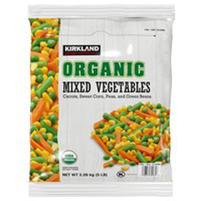 Kirkland Signature Organic Mixed Vegetables, 5 lb