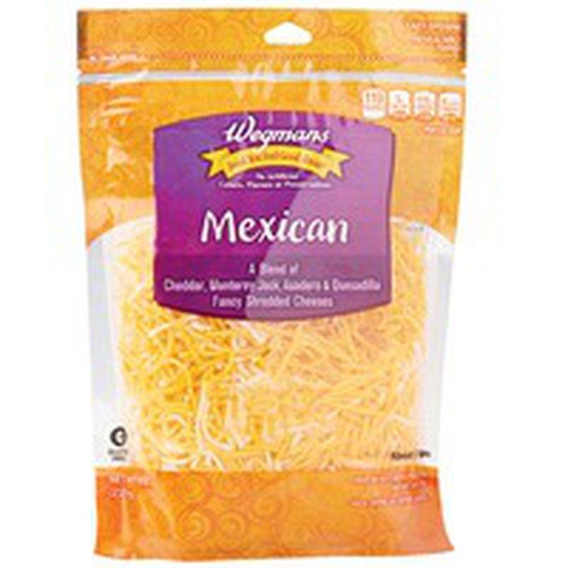 Wegmans Fancy Shredded Mexican Cheese