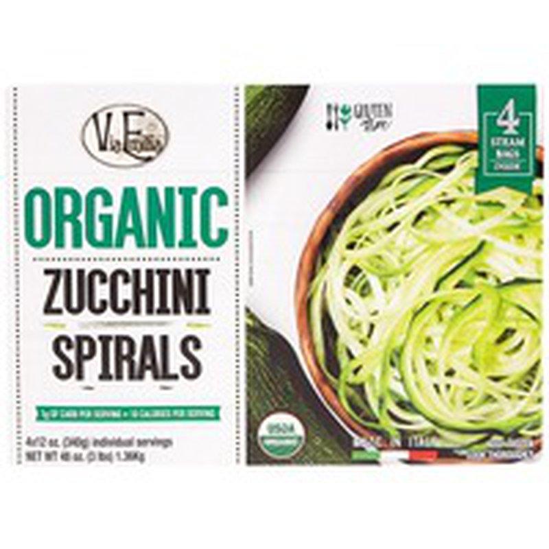 Via Emilia Organic Zucchini Spirals
