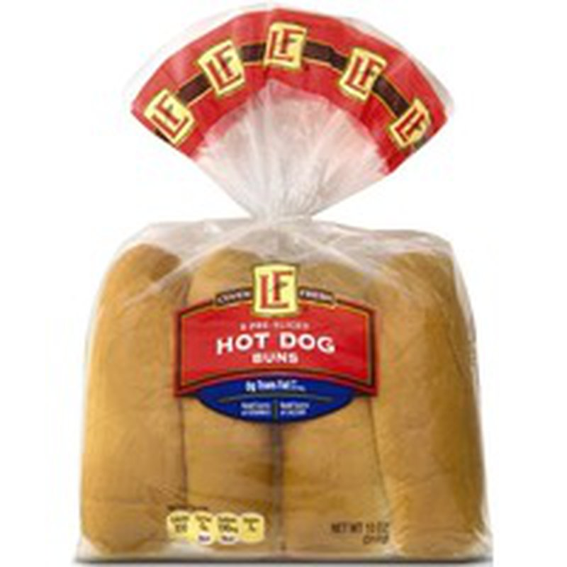 L'oven Fresh Hot Dog Buns