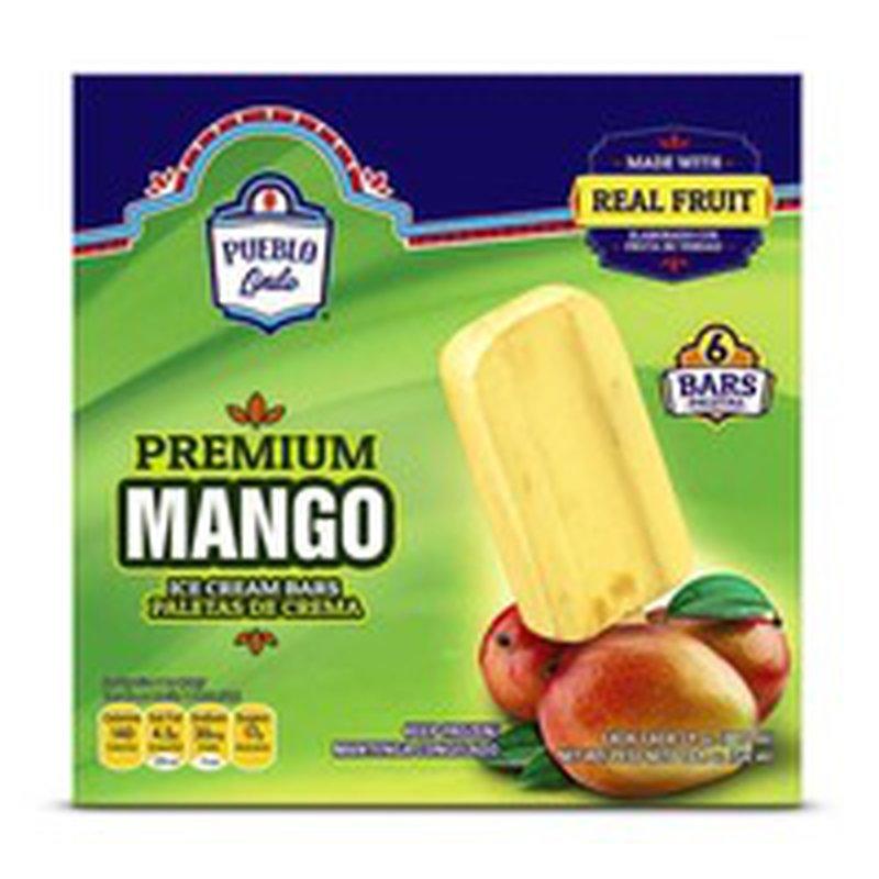 Pueblo Lindo Premium Mango Ice Cream Bar